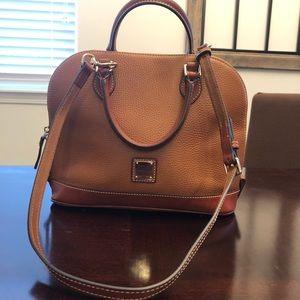 Dooney & Bourke Pebble Grain Zip Zip satchel